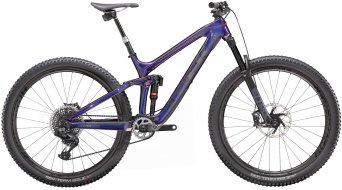 "Trek Slash 9.9 X01 AXS P1 29"" MTB(山地) 整车 型号 L gloss purple phaze/matte raw carbon Mod 2020"