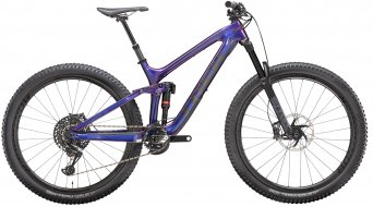 "Trek Slash 9.9 X01 P1 29"" MTB Komplettrad gloss purple phaze/matte raw carbon Mod 2020"
