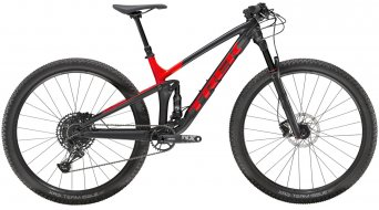 "Trek Top Fuel 8 NX 29"" MTB bici completa . matte Trek black/gloss viper red mod. 2020"
