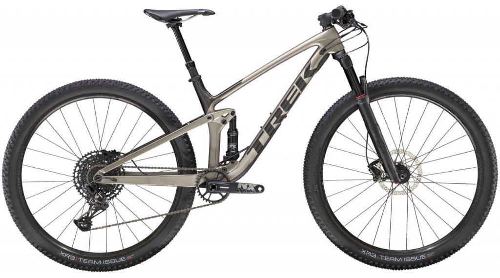 Trek Top Fuel 9.7 29 MTB bici completa mis. S metallico  gunmetal/dnister nero mod. 2021
