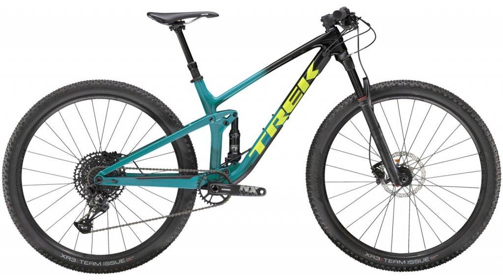 "Trek Top Fuel 9.7 NX 29"" horské kolo velikost M Trek black to teal fade model 2020"