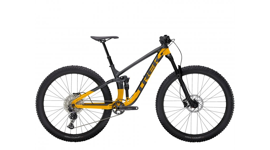 Trek Fuel EX 5 27.5 MTB Komplettrad Gr. S lithium grey/marigold Mod. 2021
