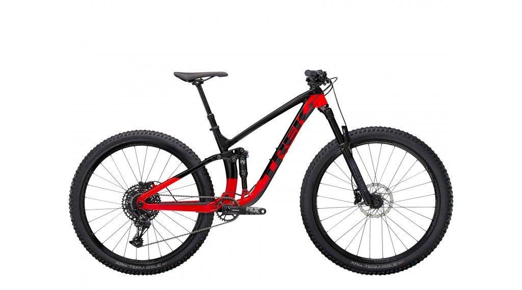 Trek Fuel EX 7 27.5 MTB Komplettrad Gr.  XS trek black/radioactive red Mod. 2021