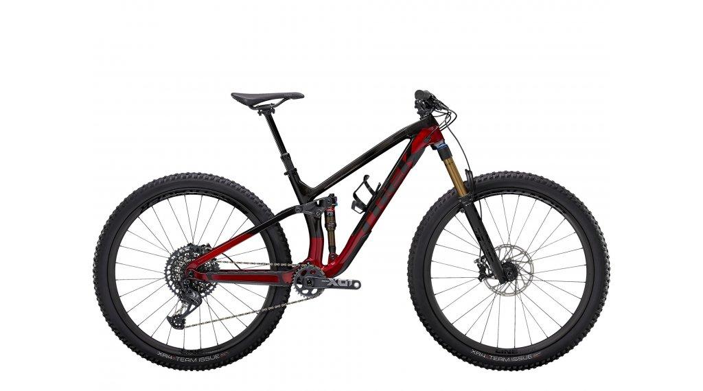 Trek Fuel EX 9.9 XO1 27.5 MTB Komplettrad Gr. S raw carbon/rage red Mod. 2021