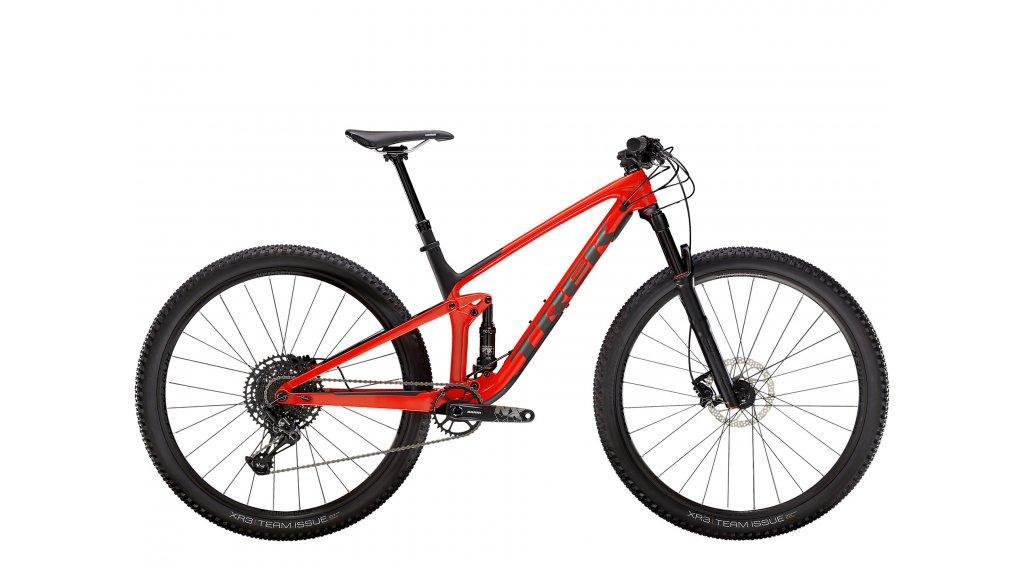 Trek Top Fuel 9.7 29 MTB bike size XXL gloss red/mat  carbon  smoke  2021
