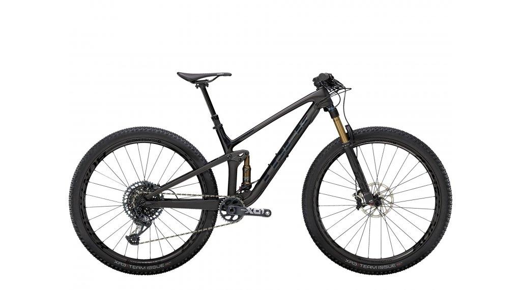 Trek Top Fuel 9.9 XO1 29 MTB Komplettrad Gr. L matte raw carbon/voodoo trek black Mod. 2021