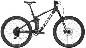 Trek Remedy 8 650B/27.5 MTB bike size 44.5cm (17.5) mat trek black/gloss trek white 2017- TESTBIKE Nr. 34