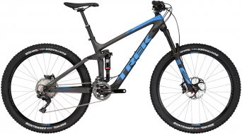 Trek Remedy 9.8 650B / 27.5 MTB Komplettrad Gr. 39.4cm (15.5) matte dnister black/waterloo blue Mod. 2017
