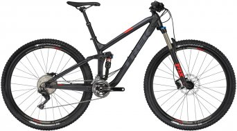 Trek Fuel EX 8 29 MTB bike size 49.5cm (19.5) mat trek black 2017- display item Lackabplatzer in the top tube