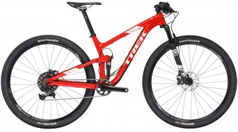 Trek Top Fuel 9 29 MTB Komplettrad viper red Mod. 2017