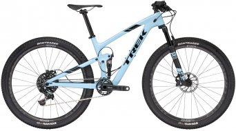 Trek Top Fuel 9.8 SL WSD 29 MTB bici completa Señoras-rueda tamaño 47cm (18.5) powder azul Mod. 2017