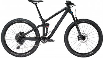 Trek Fuel EX 8 27.5+ MTB fiets mat Trek black model 2018