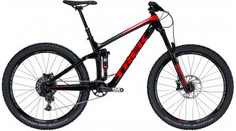 "Trek Remedy 9.7 Carbon 650B / 27.5"" MTB Komplettrad Trek black/viper red Mod. 2018"