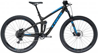 "Trek Fuel EX 7 29"" MTB Komplettrad matte Trek black/gloss waterloo blue Mod. 2018"