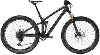 "Trek Fuel EX 9.9 29"" MTB bici completa mis. 39.4cm (15.5"") matte Trek black/gloss solid charcoal mod. 2018"