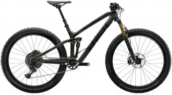 "Trek Fuel EX 9.9 29"" MTB bike size 39.4cm (15.5"") mat carbon smoke/gloss trek black 2019"