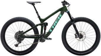 "Trek Slash 9.8 29"" MTB bike british racing green"