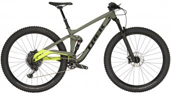 Trek Stache 8 29+ MTB bike mat olive grey/gloss volt green 2019