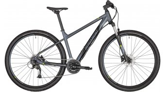"Bergamont Revox 3 29"" MTB Komplettrad Gr. M silver blue/black/lime green (satin) Mod. 2020"