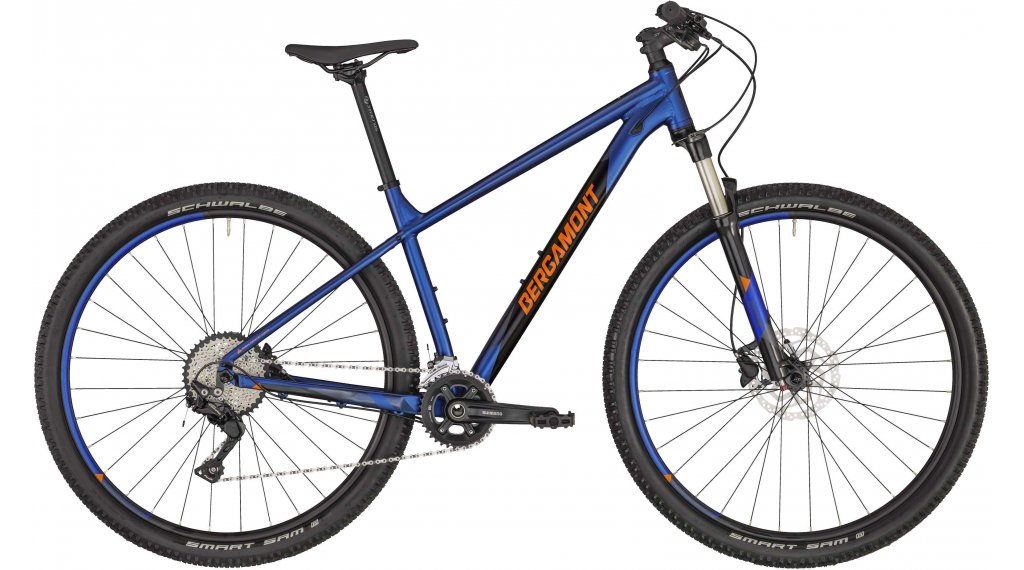 "Bergamont Revox 6 29"" MTB(山地) 整车 型号 L atlantic blue/black/橙色 (matt/shiny) 款型 2020"