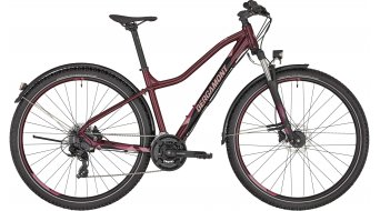 "Bergamont Revox FMN EQ 29"" MTB(山地) 女士komplettrad 型号 burgundy red/black/rosé (matt/shiny) 款型 2020"