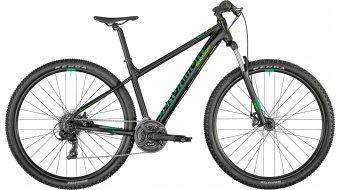 Bergamont Revox 2 27.5 MTB(山地) 整车 型号 black/green/neon yellow 款型 2021