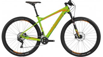 Bergamont Revox LTD carbono 29 MTB bici completa Caballeros-rueda tamaño S apple verde/naranja Mod. 2016
