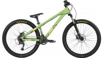 Bergamont Kiez 040 8-Speed 26 MTB bike mens version mint/neon yellow 2016