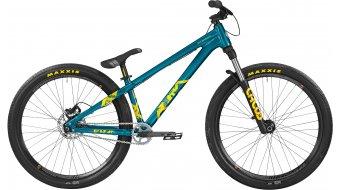 Bergamont Kiez Dirt 26 MTB bike mens version size M petrol/yellow 2016