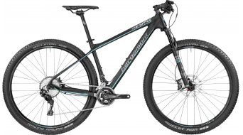 Bergamont Revox 10.0 carbon 29 MTB bike black/coral blue/grey (matt) 2017