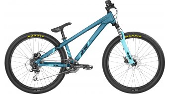 Bergamont Kiez 040 8 Speed 26 MTB bike size M petrol/coral blue (matt) 2017