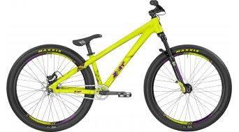 Bergamont Kiez Dirt 26 MTB bike size M lime/purple (shiny) 2017