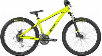 Bergamont Kiez Flow 26 MTB bike neon yellow/black (matt) 2017