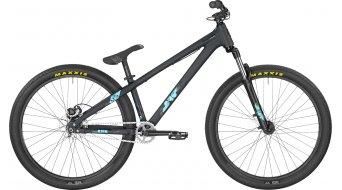 Bergamont Kiez 040 single Speed 26 MTB bike black/coral blue (matt/shiny) 2017