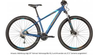"Bergamont Revox 5.0 650B/27.5"" VTT vélo taille dark bluegrey/blue/orange (matt) Mod. 2018"