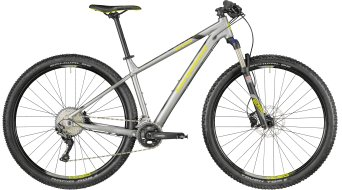 "Bergamont Revox 7.0 29"" MTB bike silver/black/lime (mat) model 2018"