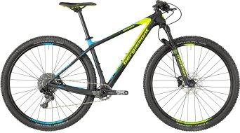 "Bergamont Revox Sport carbon 29"" MTB bike black/neon yellow/cyan (mat) model 2018"