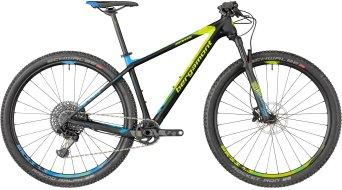 "Bergamont Revox Team carbon 29"" MTB bike black/neon yellow/cyan (mat) model 2018"