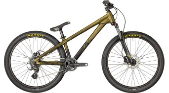 "Bergamont Kiez 040 8-speed 26"" Dirt/Street Komplettbike gold-black gradient/black (matt) Mod. 2018"