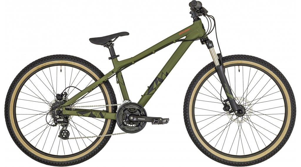 """Bergamont Kiez Fun 26"""" Dirt/Street bike size L olive/black/red (matt) 2019"""