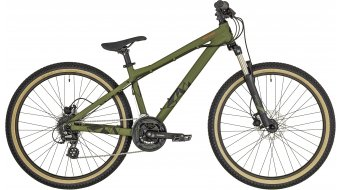 "Bergamont Kiez Fun 26"" Dirt/Street jízdní kolo olive/black/red (matt) model 2019"