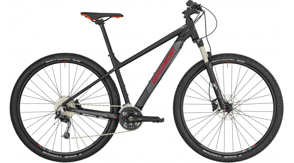 "Bergamont Revox 5.0 27.5""/650B MTB(山地) 整车 型号 M black/grey/red (matt) 款型 2019"