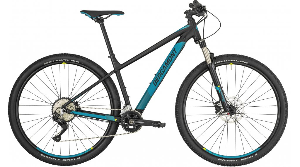 "Bergamont Revox 6.0 29"" MTB(山地) 整车 型号 M black/petrol/yellow (matt) 款型 2019"