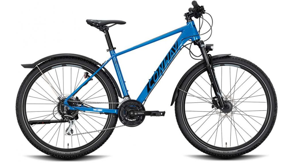 "Conway MC 427 27.5"" MTB Komplettrad Gr. M blue/black Mod. 2020"