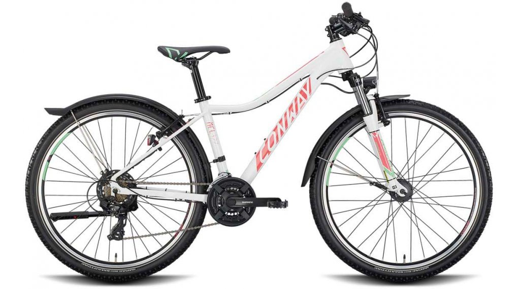 "Conway MCL 3 27.5"" MTB(山地) 整车 女士 型号 XS white/coral 款型 2020"