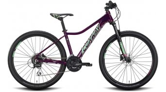 "Conway ML 4 27.5"" MTB bike ladies size S anthracite matt/neomint 2020"