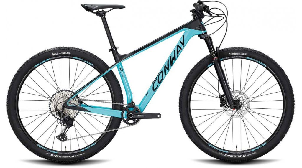 "Conway RLC 4 29"" MTB Komplettrad Gr. M turquoise/black matt Mod. 2020"