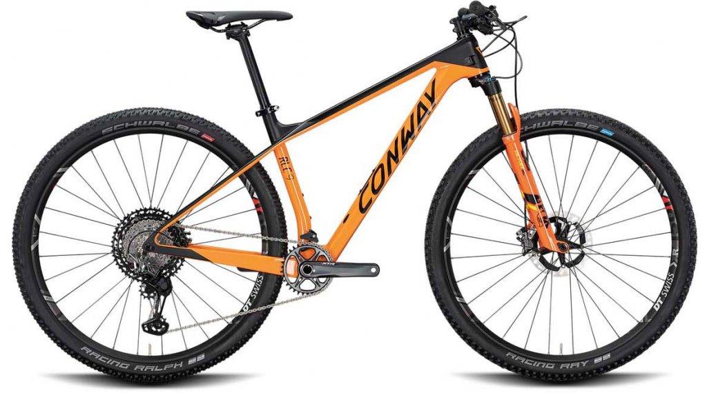 "Conway RLC 9 29"" MTB Komplettrad Gr. S orange/black matt Mod. 2020"