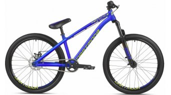 Dartmoor Gamer24 Intro Dirtbike bici completa mis. unisize nero/sea lemon