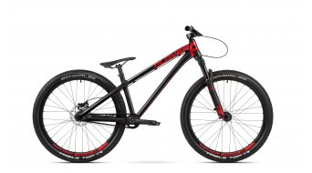 Dartmoor Two6Player Pump Dirtbike bici completa mis. unisize nero